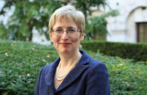 CHS patron, the British Ambassador to Belgium, Alison Rose