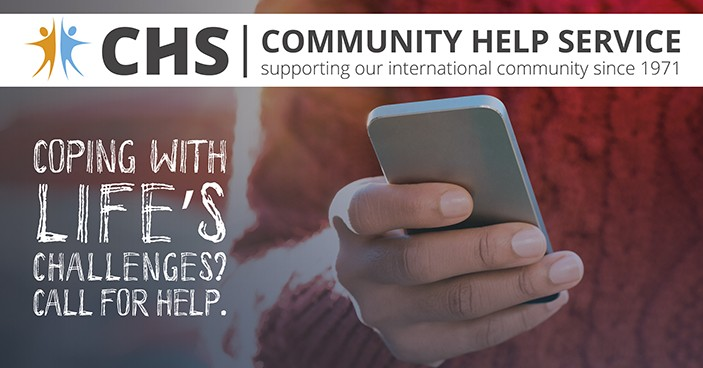 CHS Helpline 02 648 40 14 - call 24/7 for Support & Information
