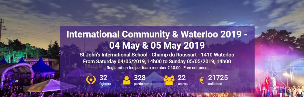 Relay for Life - International Community & Waterloo (4-5 May)