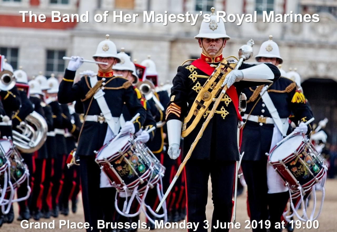 Perfomance by the Band of Her Majesty's Royal Marines - 3 June